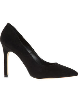 Black Soft Court Shoes by Carvela