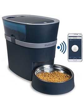 Pet Safe Smart Feed Automatic Dog And Cat Feeder, Smartphone, 24 Cups, Wi Fi Enabled App For I Phone And Android, Award Winning Pet Feeder by Pet Safe