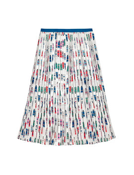 Paint Tubes Pleated Skirt by Cath Kidston