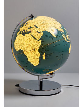 Globe Along For The Ride Lamp by Modcloth