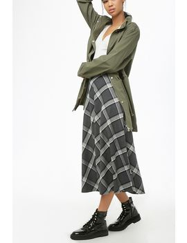 Argyle Midi Skirt by Forever 21