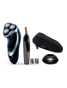 Philips Norelco Electric Shaver, 4000 Series   4300, Black, Silver, At850/49 by Philips Norelco