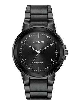 Men's Eco Drive Axiom Gray Stainless Steel Bracelet Watch 41mm by Citizen