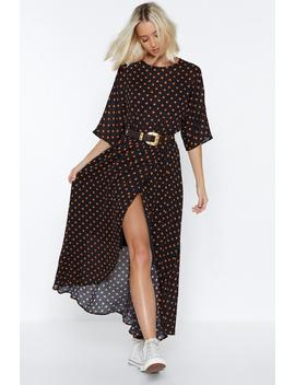 Bye Bye Love Polka Dot Dress by Nasty Gal