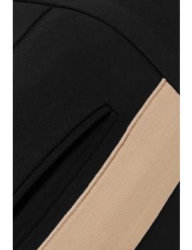 Striped Cotton Blend Jersey Slim Leg Pants by Derek Lam