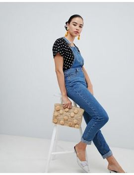 New Look Slim Fit Dungarees by New Look