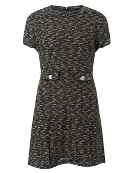 grey-shift-dress by dorothy-perkins