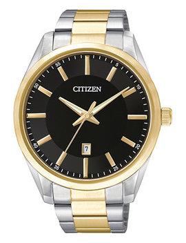 Men's Two Tone Stainless Steel Bracelet Watch 42mm Bi1034 52 E by Citizen