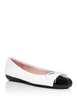Women's Bravo Brighton Leather Ballet Flats by Paul Mayer