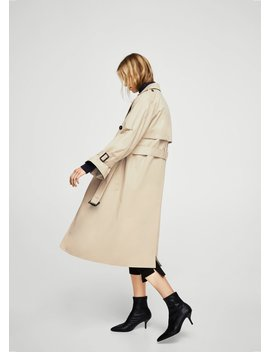 Double Breasted Trenchcoat by Mango