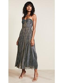 Metallic Strapless Dress by Glamorous