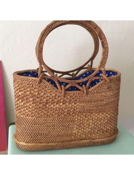 Straw Basket Handbag. Like New ✨ by Urban Outfitters
