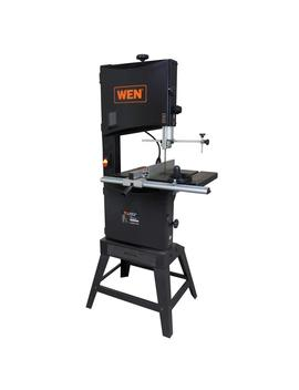 9.5 Amp 14 In. 2 Speed Band Saw With Stand And Worklight by Wen