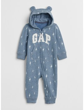 Logo Hoodie One Piece by Gap
