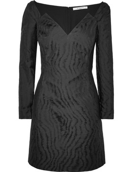 Moire Jacquard Mini Dress by Givenchy