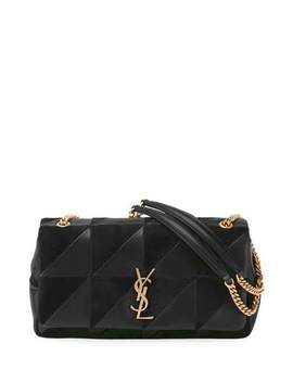 Jaime Medium Patchwork Flap Shoulder Bag by Saint Laurent