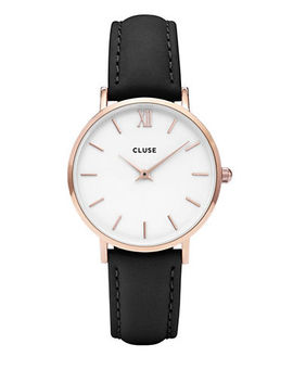 Minuit Cl30003 Leather Analog Watch by Cluse