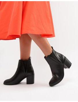 Asos Design – Reside – Chelsea Boots Mit Absatz by Asos Design
