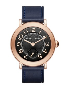 Women's Riley Leather Strap Watch, 36mm by Marc Jacobs