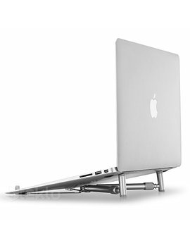 "X Stand Laptop Stand, Steklo Universal Computer Stand For Mac Book 12"" 13"" 15"" 17"" Screen, Aluminum Cooling Portable Adjustable Mac Book Stand, Laptop Riser (Newest 2018 2017 2016) X Stand by Steklo"