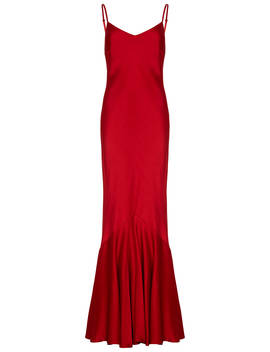 Ghost Bella Dress, Chilli Red by Ghost