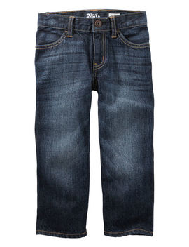 Classic Jeans   Rail Tie True Blue Wash by Oshkosh