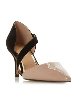Head Over Heels By Dune   Multicoloured 'camellia' Mid Stiletto Heel Court Shoes by Head Over Heels By Dune