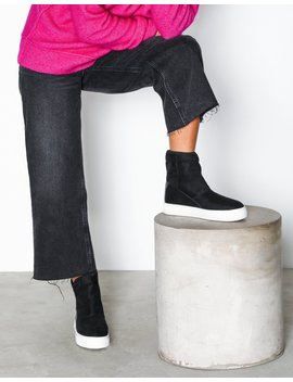 Overfold Fuzz Sneaker Boot by Nly Shoes