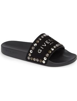 Studded Slide Sandal by Givenchy