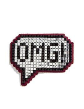 Bnib 100 Percents Auth. Anya Hindmarch £180 'omg' Crystal Sticker   Net A Porter by Ebay Seller