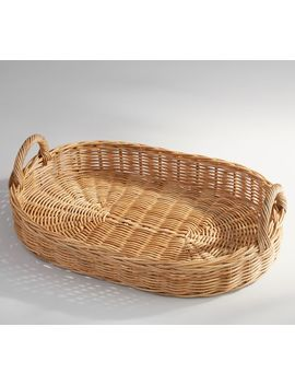Willow Tray  Natural by Pottery Barn