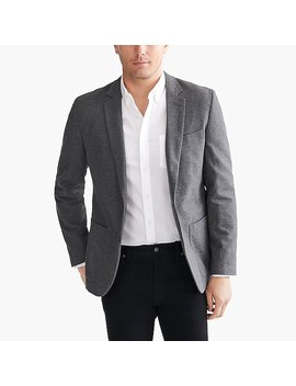 Thompson Blazer In Brushed Cotton by J.Crew