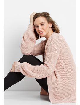 Blouson Sleeve Cardigan by Maurices