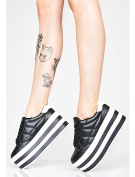 Stay Elevated Platform Sneakers by Qupid
