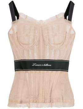 Dolce & Gabbanacorset Tophome Women Dolce & Gabbana Clothing Vests & Tank Tops by Dolce & Gabbana