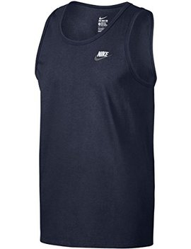 Nike Club Embroidered Swoosh Men's Sleeveless T Shirt by Nike