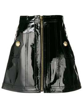 Balmainhigh Waist Mini Skirthome Women Balmain Clothing High Waisted Skirts by Balmain