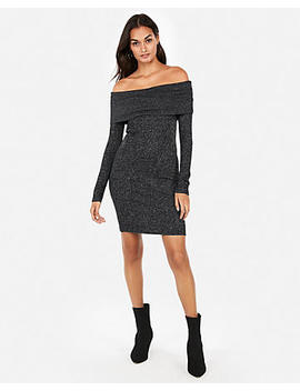 Cozy Off The Shoulder Sheath Dress by Express