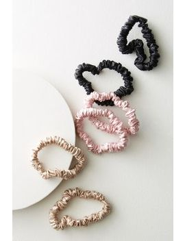 Slip Silk Small Scrunchie Set by Slip