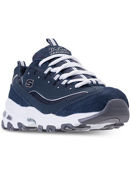 Women's D'lites   Me Time Walking Sneakers From Finish Line by Skechers