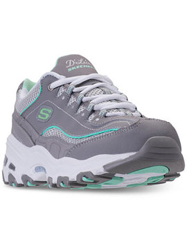 Women's D'lites   Life Saver Walking Sneakers From Finish Line by Skechers