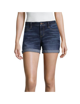 "A.N.A 3 1/2"" Denim Shorts by A.N.A"