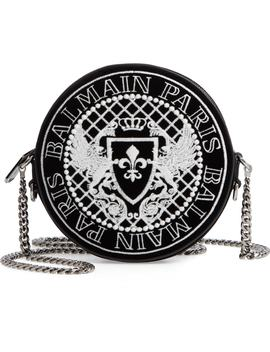 Disco Glow In The Dark Velvet Crossbody Bag by Balmain