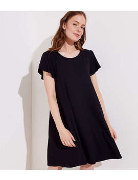 Tulip Sleeve Swing Dress by Loft