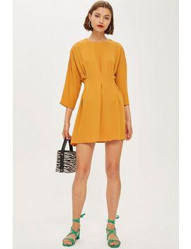 Tall Tuck Seam Mini Dress by Topshop
