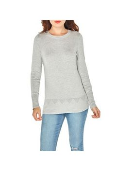 Dorothy Perkins   Grey Cuff Detail Jumper by Dorothy Perkins