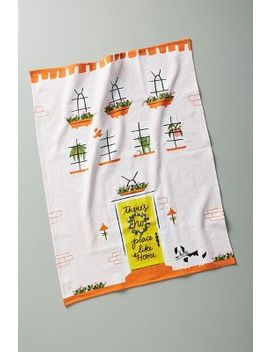 There's No Place Like Home Dish Towel by Little Low Studio