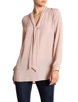 Tie Neck Tunic by 14th & Union