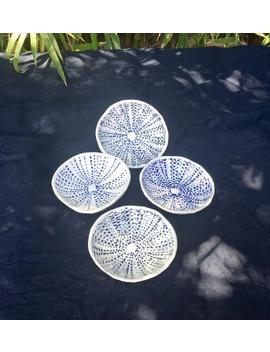 Urchin  Porcelain Dish Sea Urchin Design  Small by Etsy