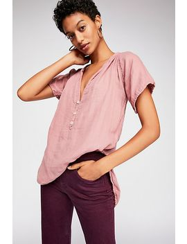 Solid Ruby Tee by Free People